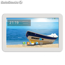 "Tablet brigmton btpc-1015QC 3G 10.1"" q.core bluetooth blanca"
