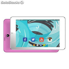 "Tablet brigmton btpc-702 7"" 8 GB Wifi Quad Core Rosa"