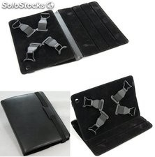 Tablet Case 7Inch Black Cowhide Leather