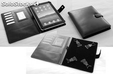 Tablet Case A5 10Inch Black Cowhide Leather