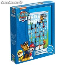 Tablet educativa Paw Patrol