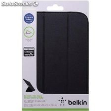 "Tablet Folio Case Galaxy Tab 3 8"""" Pu Black"