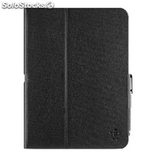 "Tablet Folio Case Galaxy Tab 4 10.1"""" Pu Black"
