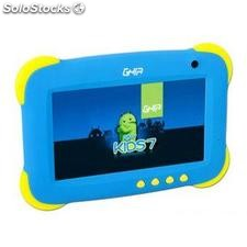 "Tablet ghia Any Kids 7"" / 512 Mb Ram /8 Gb Mem Int / Android 4.4- Azul"