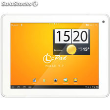 "Tablet leotec Polar 9,7"" 8GB Dual Blanca"