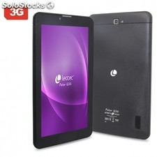 "Tablet leotec pulsar QI3G negra - A7 qc 1.3GHz - 1GB ram - 8GB - 7""/17.7CM"