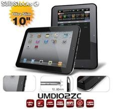 "Tablet pc 10""/ tablets Imapx210@1ghz 512m/4gb ultra delgado capacitivas"