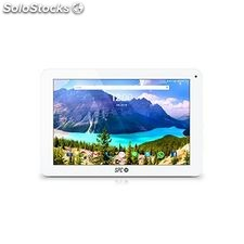 "Tablet spc 9765108B 10.1"" Quad Core ips 1 GB ram 8 GB Blanco"