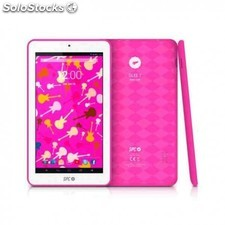 "Tablet spc glee 7"" hd rosa - qc - 512mb - 8gb"