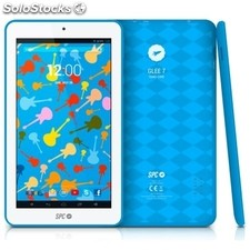"Tablet spc glee arm Cortex A7 1.3GHz 512MB 8GB Wifi 7"" azul"