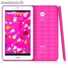 "Tablet spc glee arm Cortex A7 1.3GHz 512MB 8GB Wifi 7"" rosa"