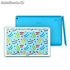 "Tablet spc Glow 9763108A 10.1"" Quad Core ips 1 GB ram 8 GB Azul"
