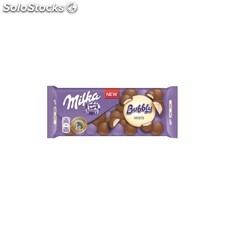 Tableta de chocolate milka bubbly blanco 95 g