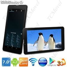 Tablete Laude Talk7 Phone 7 Android 4.2.2 4gb Dual-core 3g Telefone gps