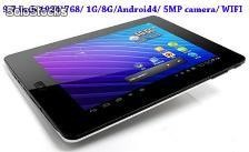 Tablets pc androde4 wifi touchpad 1024*768 pant ventas al por mayor onda 9.7""