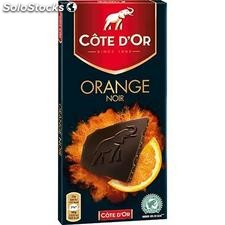 Tablette 100G chocolat orange cote d'or