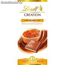 Tablette 150G chocolat creation creme brulee lindt