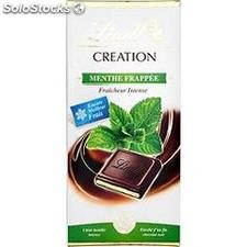 Tablette 150G chocolat creation menthe frappee lindt