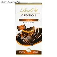 Tablette 150G chocolat creation noir opera lindt