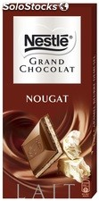 Tablette 150G grand chocolat nougat nestle