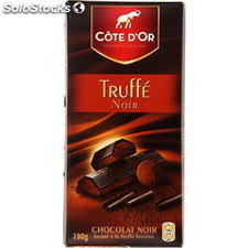 Tablette 190G chocolat truffe intense cote d'or
