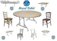 Tablones y mesas plegables para fiesta y banquetes: Royal table