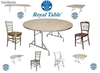 Tablones y mesas plegables para fiesta y banquetes: Royal table - Foto 1