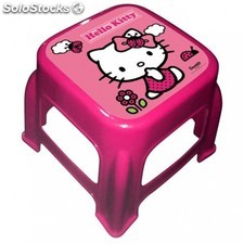 Taburete Hello Kitty 27x27x21cm.