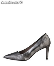 tacones mujer made in italia gris (37018)