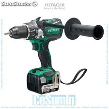 Taladro 14 v sin escobillas 5.0 Ah stackable - hitachi - Ref: DS14DBL2