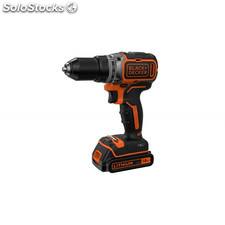 taladro atornillador brushless 18v bl186k-qw black and decker