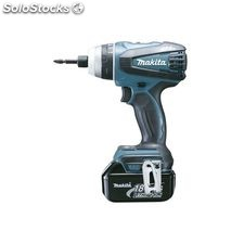 Taladro multifunción makita 18v litio-ion dtp141rmj