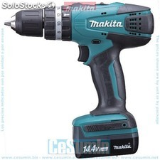 Taladro percutor 14.4v litio-ion 1.1 ah - makita - Ref: HP347DWE