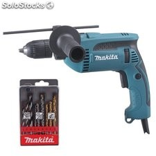 Taladro Percutor 680W 13 Mm Hp1641K1X Rev. Mal Makita