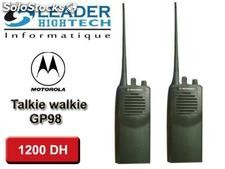 Talkie walkie motorola gp 98
