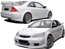 Taloneras honda civic 01 coupe lka - only full body kit!