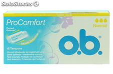 Tampon Normal Procomfort 16 Und. O.B.