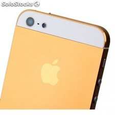 Tapa trasera iphone 5 a1428 a1429 a1442 oro y blanco