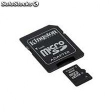 Tarjeta de memoria KINGSTON microsd 16gb + adaptador sd