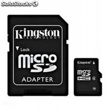 Tarjeta de memoria KINGSTON microsd 32gb + adaptador sd