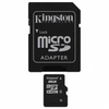 Tarjeta de memoria kingston microsd 8gb + adaptador sd