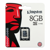 Tarjeta de memoria kingston microsd hc 8gb clase 4 - sin adaptador