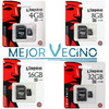 Tarjeta de Memoria Kingston MicroSD Micro sd 4GB 8GB 16GB 32GB 32 16 8 4