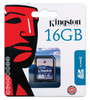 Tarjeta de memoria kingston sd hc 16gb 16gb clase 4