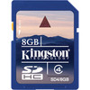 Tarjeta de memoria kingston sd hc 8gb 8gb clase 4