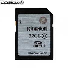 Tarjeta de memoria KINGSTON sdhc - 32gb - clase 10 - lectura 45mb/s