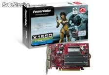 Tarjeta de Video PCI-E 512MB PowerColor Radeon X1550