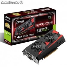 Tarjeta grafica asus geforce GTX1050 ti expedition - gpu 1290MHZ - 4GB GDDR5 -