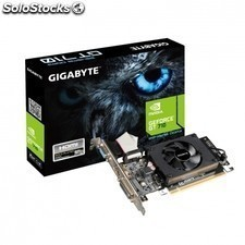 Tarjeta grafica GIGABYTE geforce gv-n710d3-2gl - core 954 mhz - 2gb ddr3 - PCi