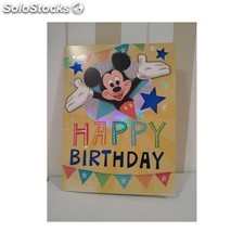 Tarjeta maxi mickey happy birthday